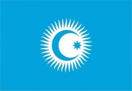 Türkçe konuşan ülkeler işbirliği konseyi bayrağı
