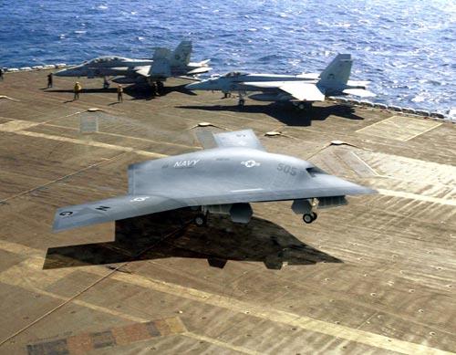 X-47B İnsansız Askeri Uçak