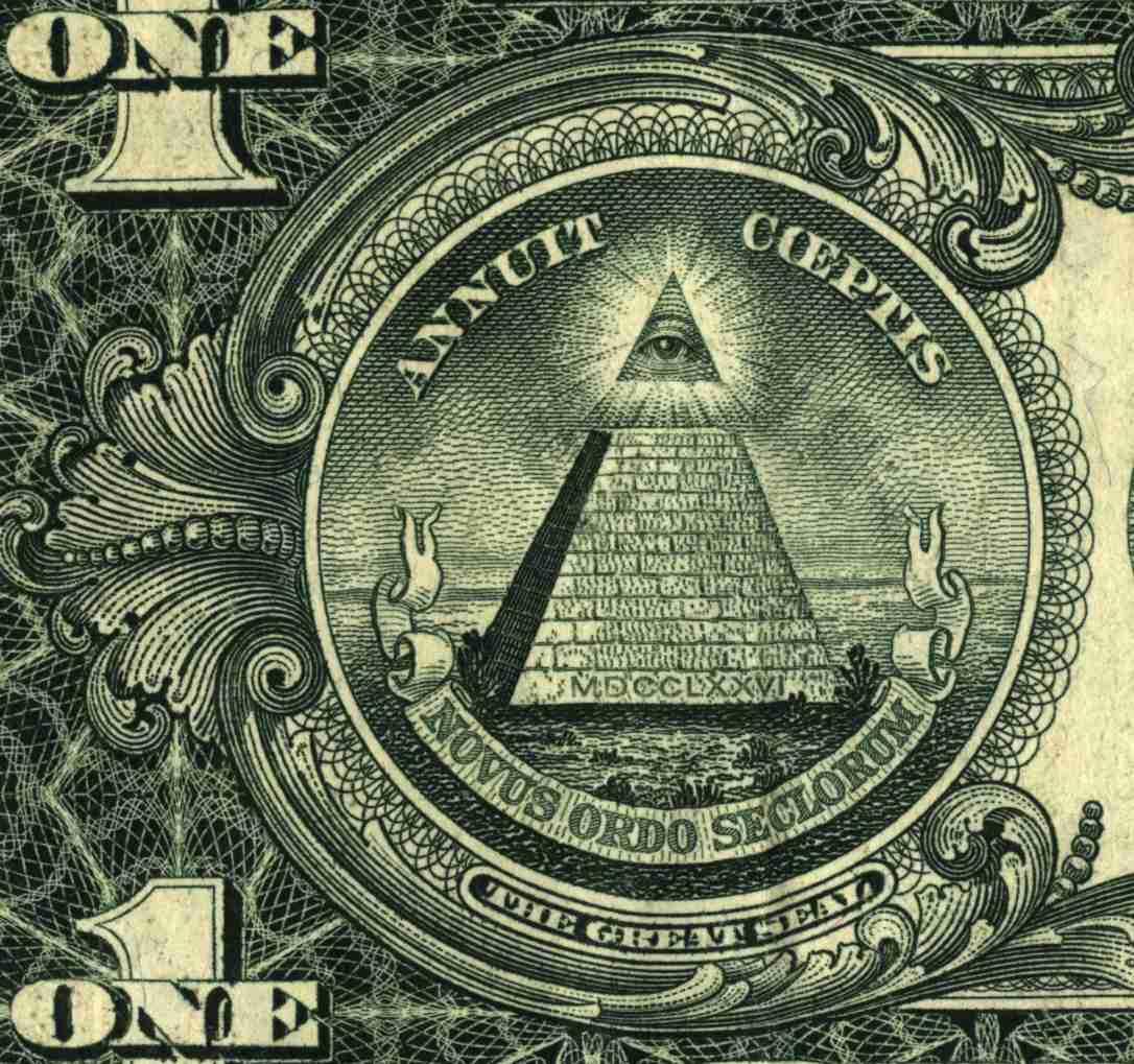 Doların arkasındaki piramit