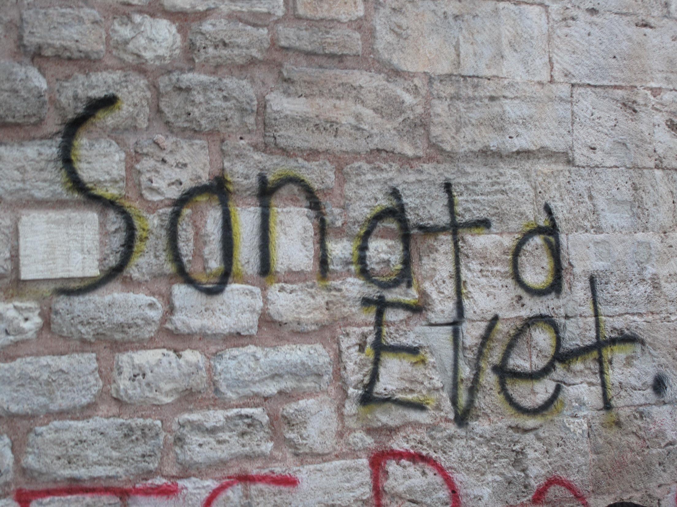 Direnişin en güzel duvar yazısı