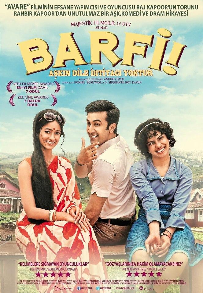 Barfi! | 2012 | BRRip - 720p - x246 - Mkv | Hindistan