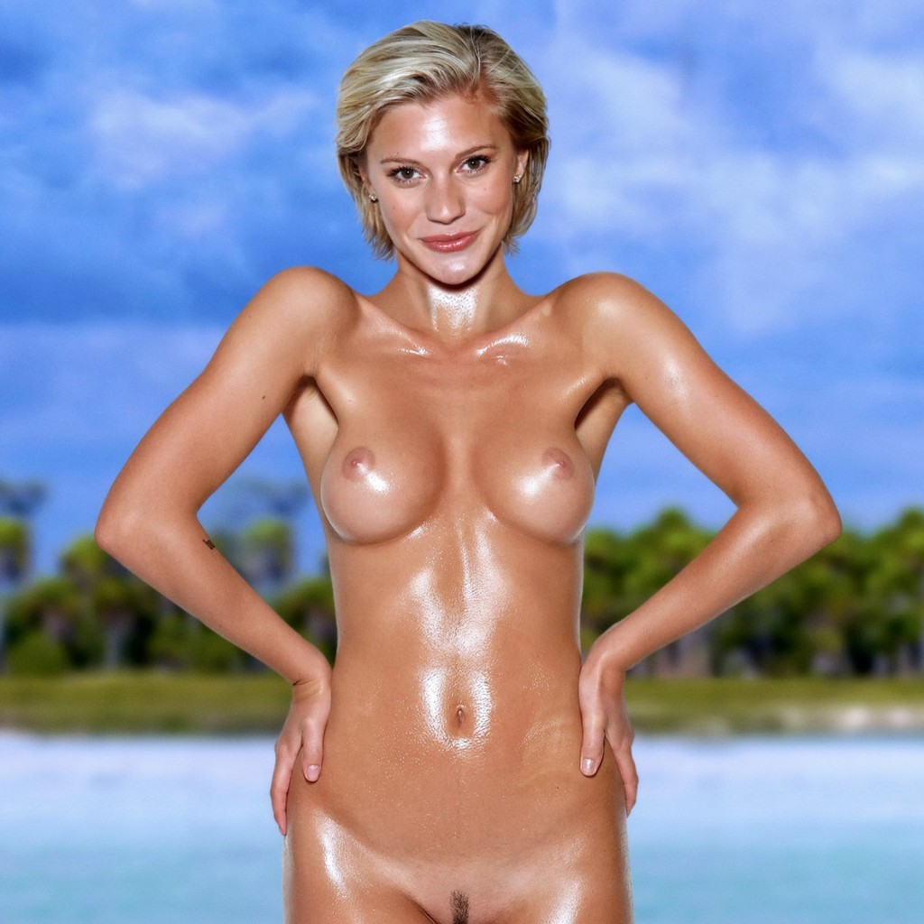 Nude the photos in sackhoff bed in Katee