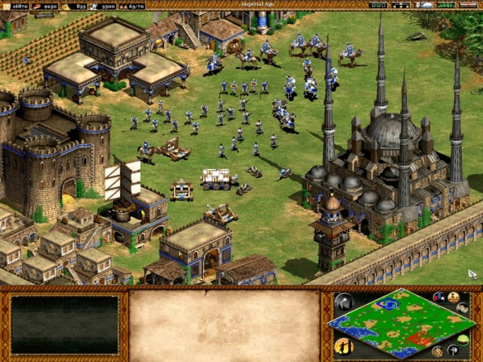 age of empires 2 the conquerors resim 1