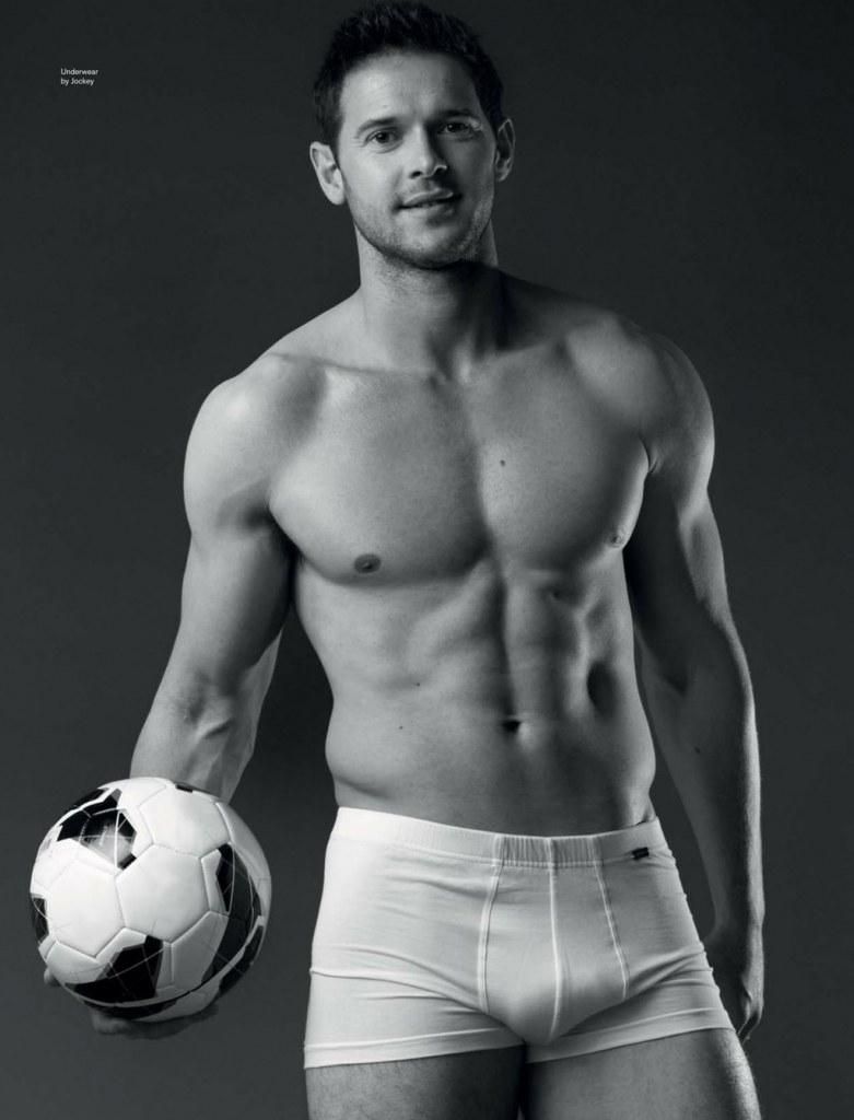 Сексуальные футболисты