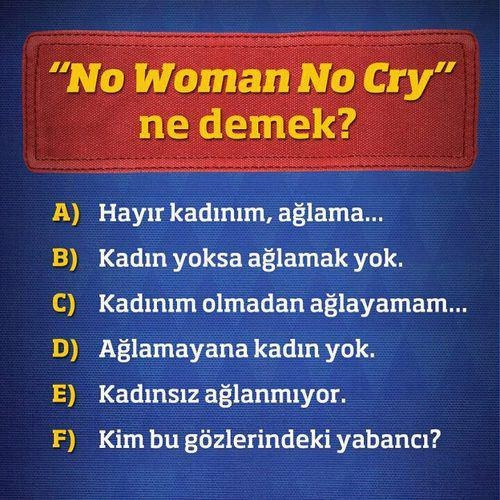no woman no cry resim 1